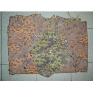 German WW2 oak leaf camouflage EF zeltbahn