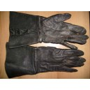 Czechoslovak paratroopers leather gloves from 60's years