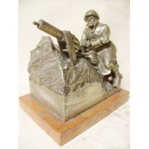 CS 1. republic army machine gunner statuette