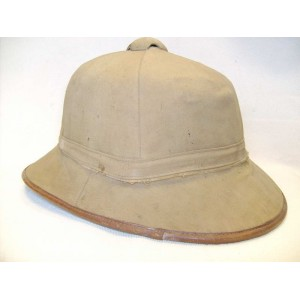 German LW army tropical cork pith helmet