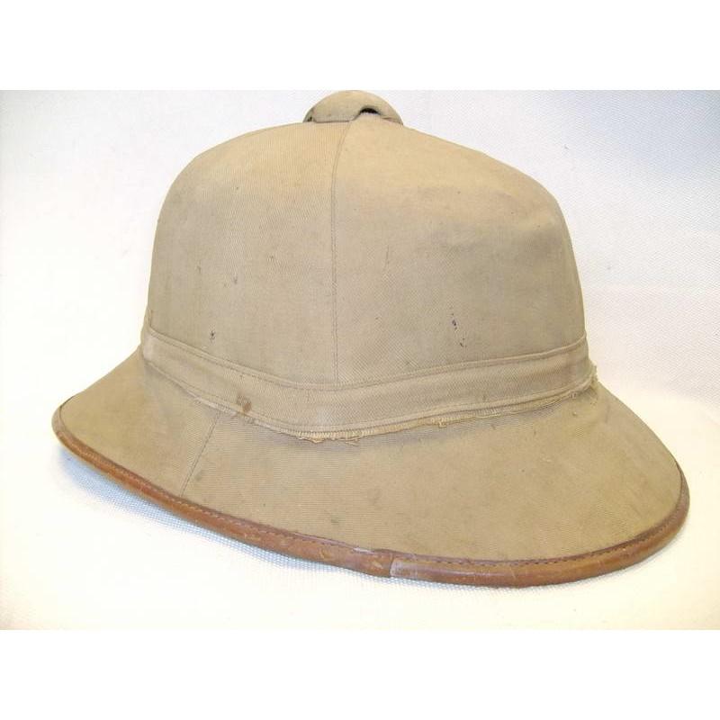 German LW army tropical cork pith helmet
