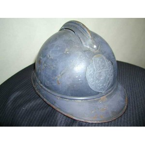 WW1 Adrian helmet for Czechoslovak volunteers in French army