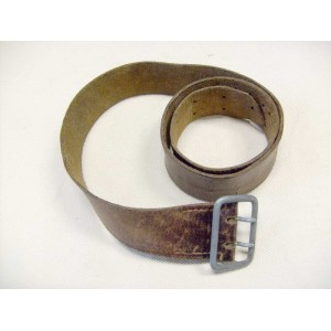 German SA brown leather belt