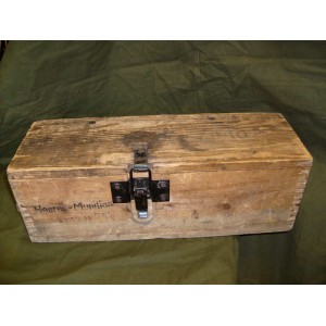 German wooden Heeres Munition Kiste