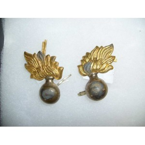 Austro-Hungarian Feldgendarmerie MP collar badge pair