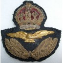 WW2 British RAF Officer's Cap Badge