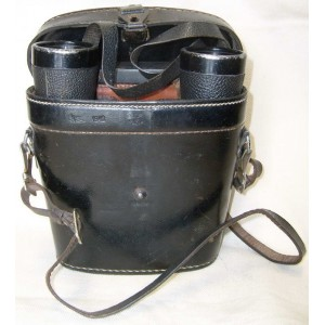 WW2 German army binoculars Dientsgalas 7x50 beh O+ Leitz