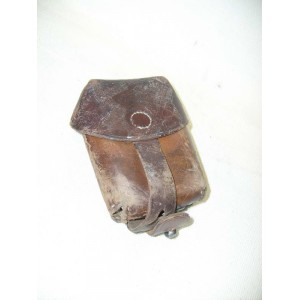 Czechoslovak leather ammo pouch for rifle VZ24