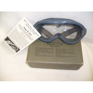 WW2 US army goggles M1944 complete with box