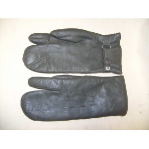 WW2 German army Officers leather winter gloves