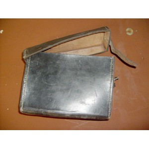 German WW2 leather carrying case for field communication box