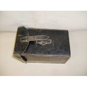 German WW2 leather carrying case for theodolite or photo camera
