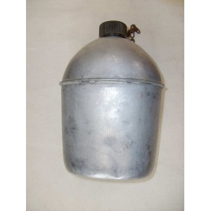 US WW2 army stainles field flask
