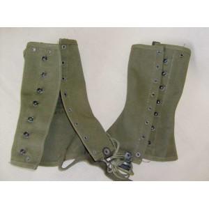 US army WW2 canvas leggings M1938