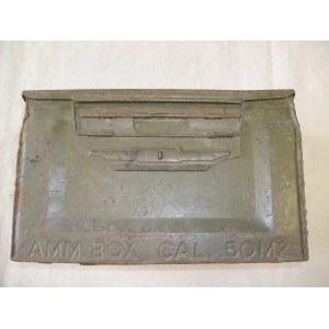 US army WW2 ammo box cal. .50 M2