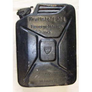 German WW2 army WH petrol can 20l