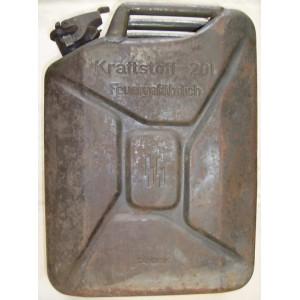 German WW2 SS petrol can 20l