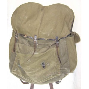 German WW2 Mountain troops rucksack