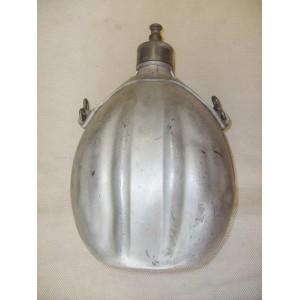 Italian WW1 aluminium field flask