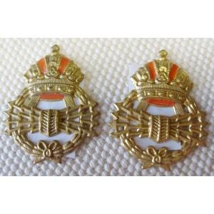 WW1 Austrian abzeichen Funker gilded