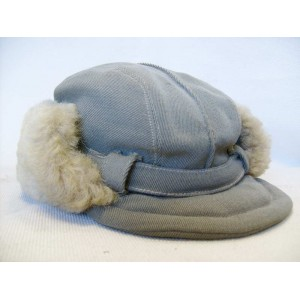 German WW2 winter Police Polizei cap for eastern front