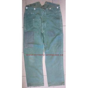 German WW2 HBT Police trousers