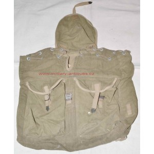 German WW2 DAK Afrikakorps back pack with canvas Y straps