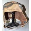 German Croatian WW2 summer flying helmet with goggles