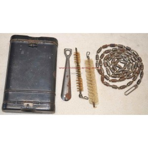 German WW2 cleaning set for Mauser rifle K98