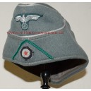 German WW2 Officer sidecap overseas cap Jager rgt