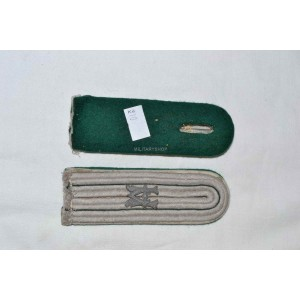 German WW2 shoulder boards WH Heeresbeamte