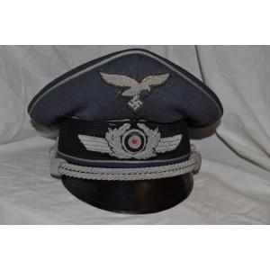 Visor Officer's cap for Luftwaffe