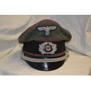 Visor cap for Officer's Veterinarians or General Staff.