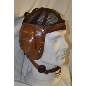 German WW2 Summer Flight Helmet LKnO 101