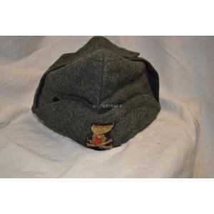 WW2 Italian artillery Overseas cap