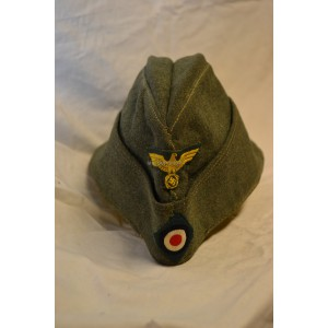 WW2 German coastal Artillery EM/NCO Overseas cap