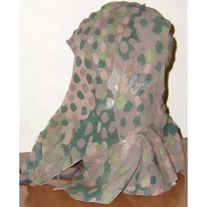 German WW2 EF M44 dot patern reversible hood