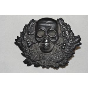Austrian WW1 Sturmtrupp Roham Csapat Badges