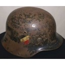 German WW2 DD Luftwaffe M35 helmet