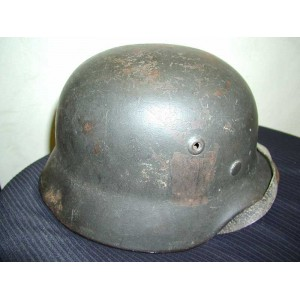 German WW2 DD steel helmet m35/40