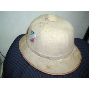 LW tropical pith helmet