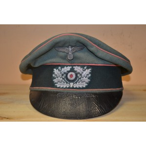 Wehrmacht cap for officers of armoured corps