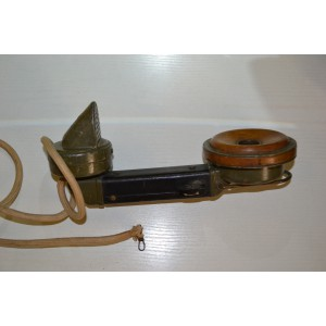 German telephone handset from fieldtelephone WW1