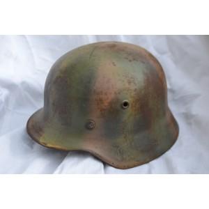 German M 40 camouflage Helmet