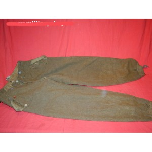 German WW2 SA brown skiing trousers