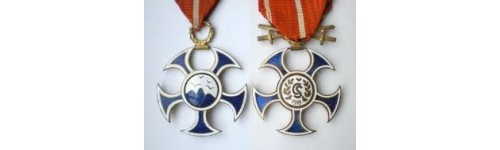 Medals, orders, badges